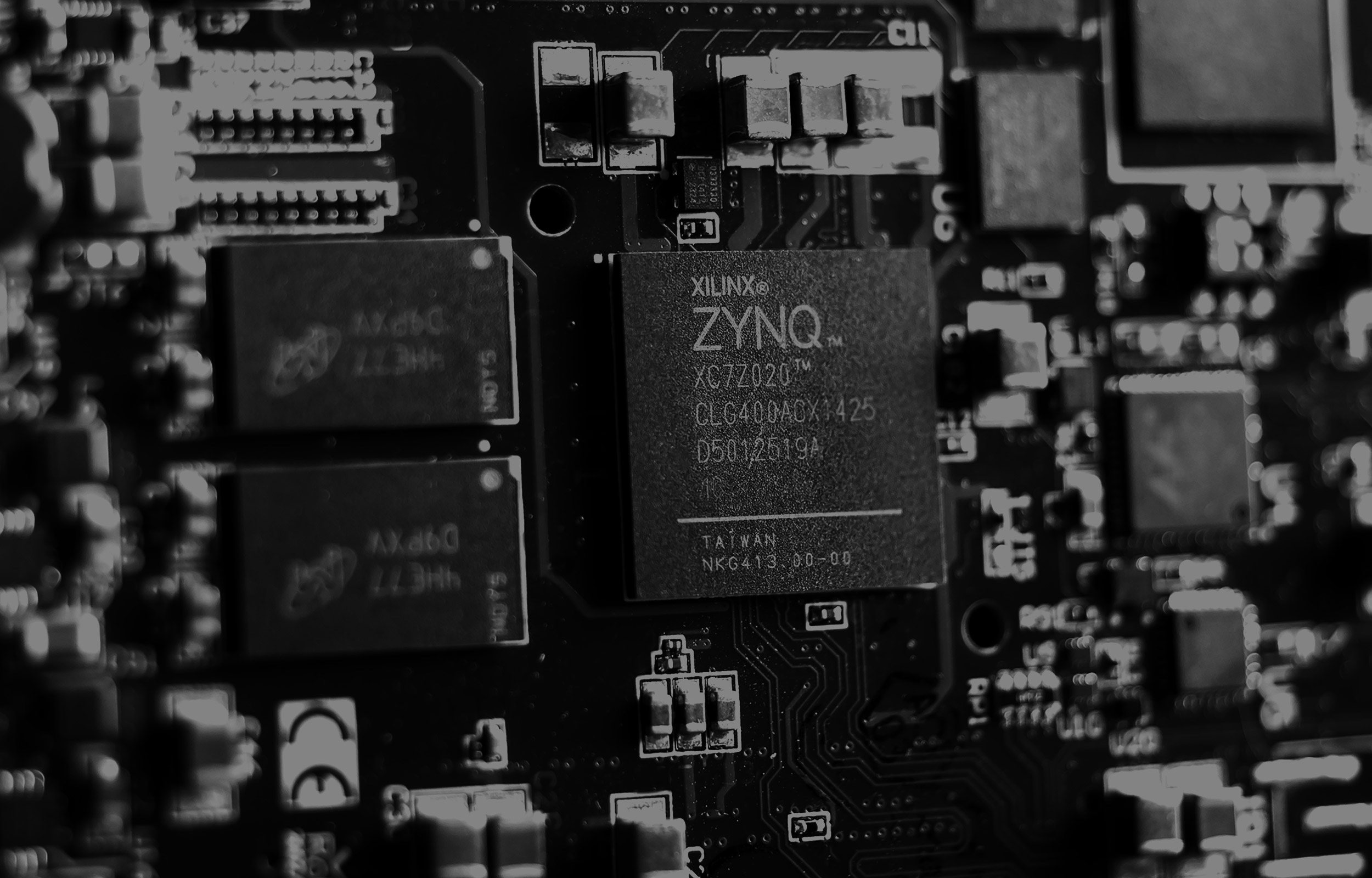 Zynq-based reference development board for Matryx OS